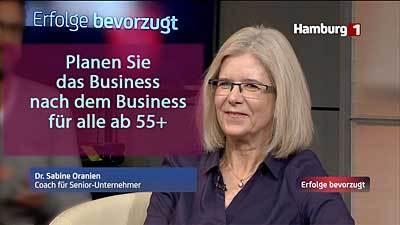 Dr. Sabine Oranien - Erfolge bevorzugt