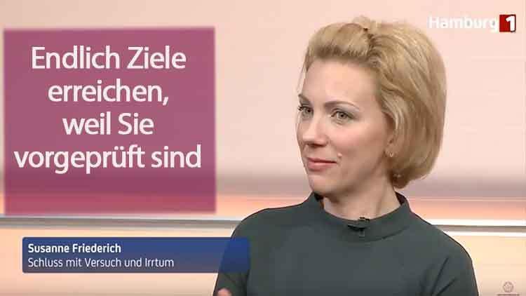 Susanne Friederich - Erfolge bevorzugt